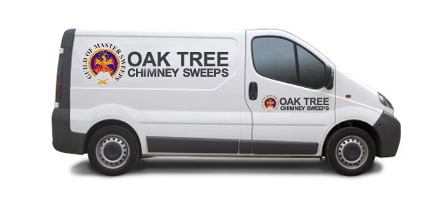 Chimney sweep in Hereford, Leominster, Malvern, Powys by Oak Tree Chimney Sweeping