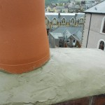 New chimney pot installed.